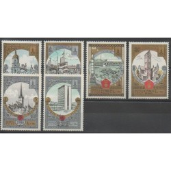 Russie - 1980 - No 4688/4693 - Monuments
