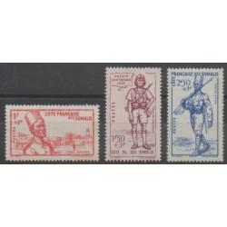 Côte des Somalis - 1941 - No 188/190 - Neuf avec charnière