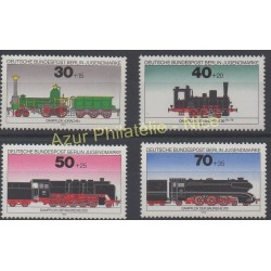 Allemagne occidentale (RFA - Berlin) - 1975 - No 452/455 - Trains