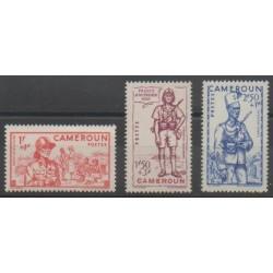 Cameroun - 1941 - No 197/199 - Neuf avec charnière