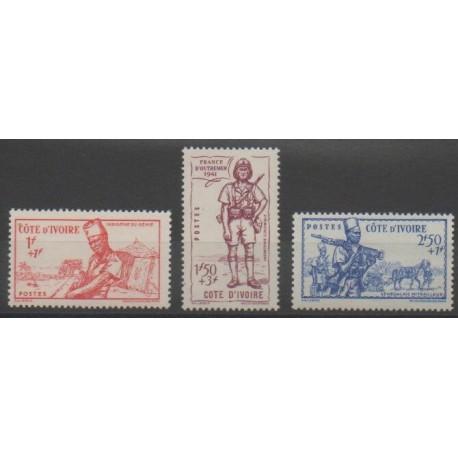 Côte d'Ivoire - 1941 - No 162/164
