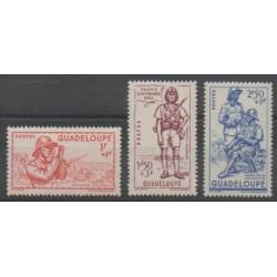 Guadeloupe - 1941 - Nb 158/160