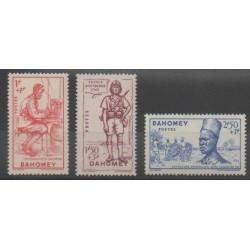 Dahomey - 1941 - Nb 142/144