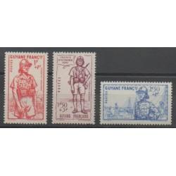 Guyane - 1941 - No 169/171 - Neuf avec charnière