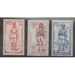 Guinea - 1941 - Nb 169/171 - Mint hinged