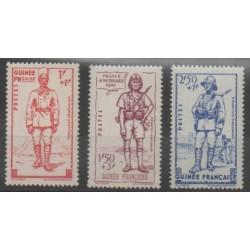 Guinée - 1941 - No 169/171