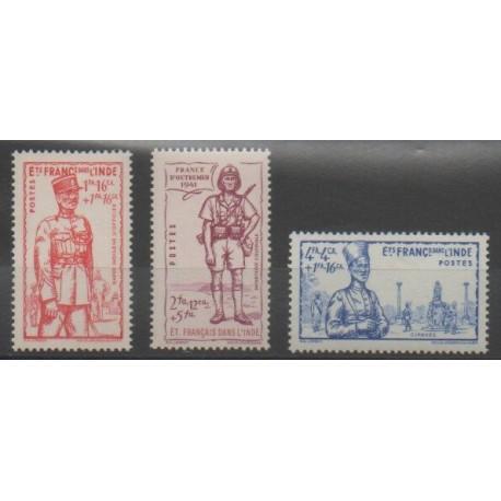 Inde - 1941 - No 123/125