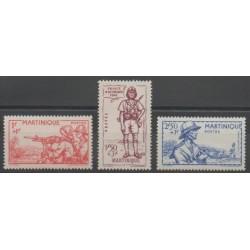 Martinique - 1941 - No 186/188