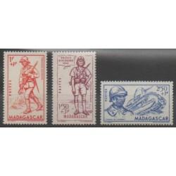 Madagascar - 1941 - Nb 226/228