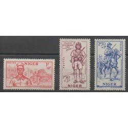 Niger - 1941 - Nb 86/88