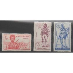 Mauritanie - 1941 - No 116/118