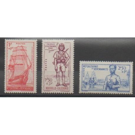 Nouvelle-Calédonie - 1941 - No 190/192