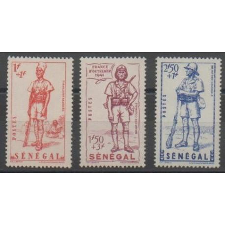 Sénégal - 1941 - No 170/172 - Neuf avec charnière