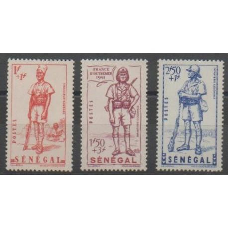 Sénégal - 1941 - No 170/172