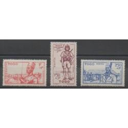 Togo - 1941 - Nb 208/210