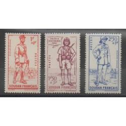 Soudan - 1941 - No 122/124 - Neuf avec charnière