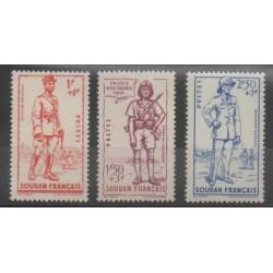 Soudan - 1941 - No 122/124