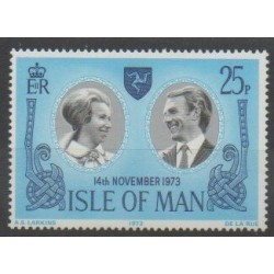 Man (Isle of) - 1973 - Nb 24 - Royalty