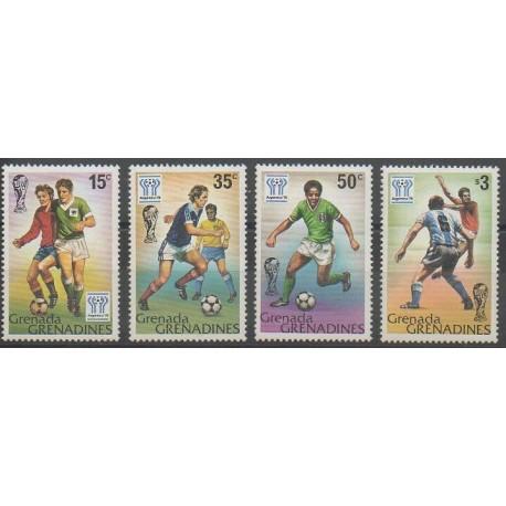 Grenadines - 1978 - No 262/265 - Coupe du monde de football