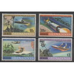 Grenadines - 1979 - No 289/292 - Littérature