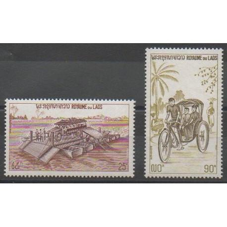Laos - 1974 - No 266/267 - Transports