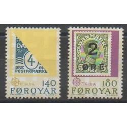 Féroé (Iles) - 1979 - No 37/38 - Timbres sur timbres - Europa