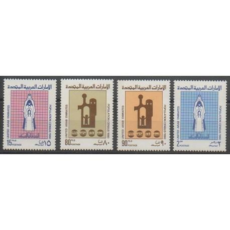 Emirats arabes unis - 1980 - No 103/106
