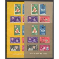 Togo - 1961 - No BF5a/BF5d - Scoutisme