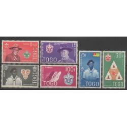 Togo - 1961 - No 334/339 - Scoutisme