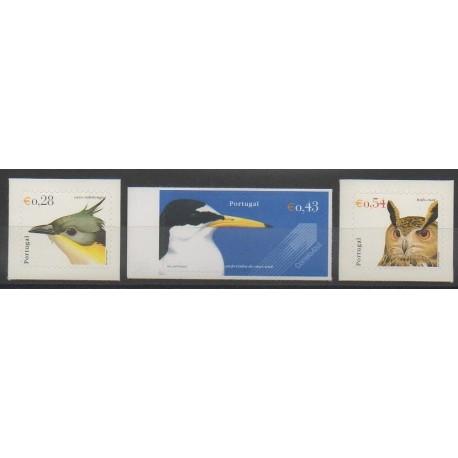 Portugal - 2002 - No 2554A/2554C - Oiseaux