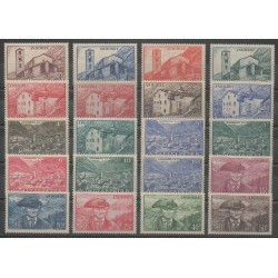 French Andorra - 1944 - Nb 100/118