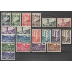 Andorre - 1955 - No 138/153 - Sites - Neuf avec charnière