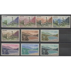 Andorre - 1961 - No 158/164 - Sites