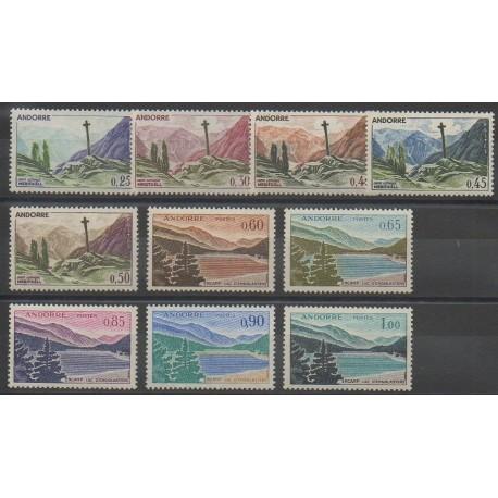Andorre - 1961 - No 158/164 - Sites