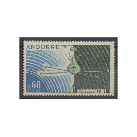 Andorre - 1966 - No 177 - Télécommunications