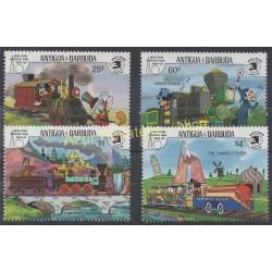 Antigua et Barbuda - 1989 - No 1198/1201 - Walt Disney
