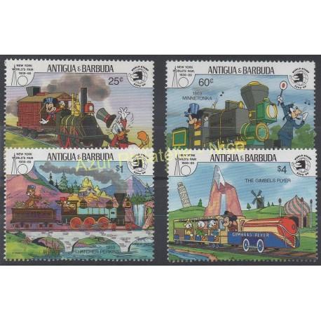 Antigua and Barbuda - 1989 - Nb 1198/1201 - Walt Disney