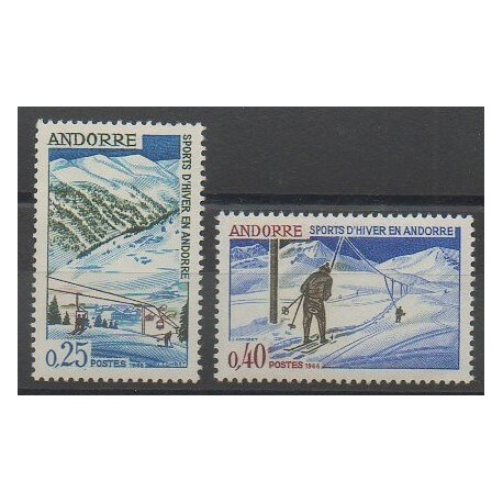 Andorre - 1966 - No 175/176 - Sports divers