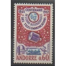 Andorre - 1965 - No 173 - Télécommunications