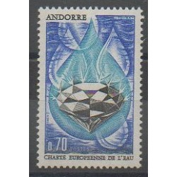 French Andorra - 1969 - Nb 197 - Environment