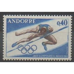 French Andorra - 1968 - Nb 190 - Summer Olympics