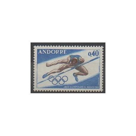 Andorre - 1968 - No 190 - Jeux Olympiques d'été