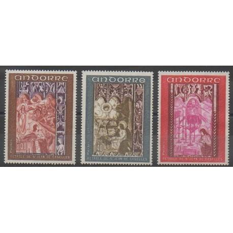 Andorre - 1969 - No 198/200 - Églises