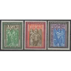 Andorre - 1971 - No 214/216 - Églises