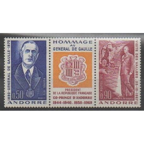 Andorre - 1972 - No 225A - De Gaulle