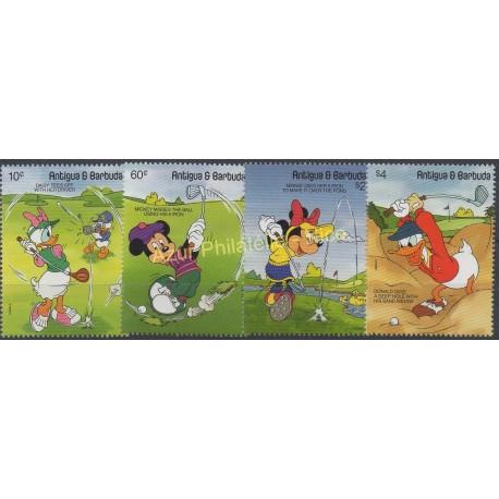 Antigua and Barbuda - 1991 - Nb 1354/1357 - Walt Disney