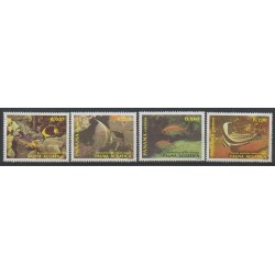 Panama - 1988 - Nb 1046/1049 - Sea animals