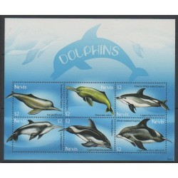 Nevis - 2009 - Nb 2077/2082 - Mamals - Sea animals