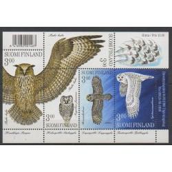 Finlande - 1998 - No 1412/1416 - Oiseaux