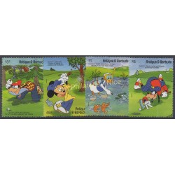Antigua et Barbuda - 1991 - No 1387/1390 - Walt Disney